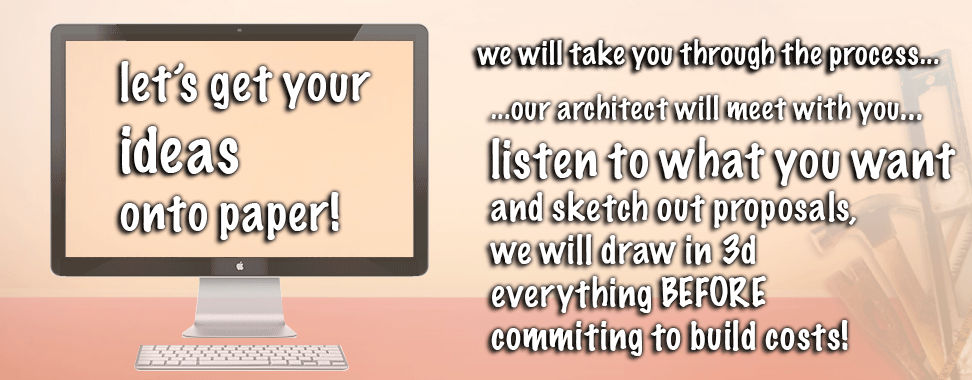 lets get your ideas onto paper...